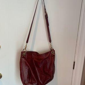 Rebecca Minkoff grommet studded shoulder bag